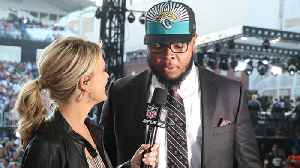 Jacksonville Jaguars offensive tackle Jawaan Taylor: 'I've been dreaming about this all my life' [Video]