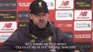 Final fixtures the only focus for Klopp [Video]