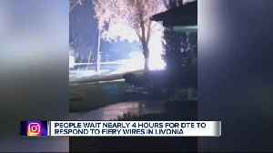 Livonia family claims DTE Energy took hours to cut power to downed lines near home [Video]