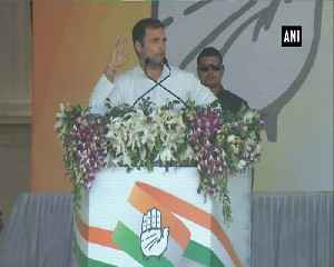 Nowadays PM Modi read his speeches through teleprompter hardly talks about unemplyment farmers Rahul Gandhi [Video]