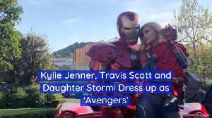 Kylie Jenner And Family Get Dressed Up As Heroes [Video]