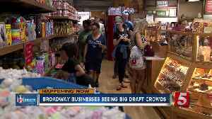 Broadway businesses brace for NFL Draft crowds [Video]