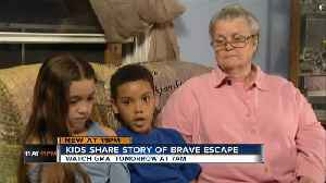 Middletown 8-year-old's quick thinking saved him, sister from kidnapping [Video]
