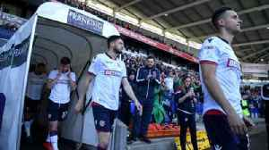 Bolton football match called off as players strike over wages [Video]