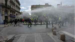 French Police Hit With Tear Gas To Prevent Them From Reaching Parliament Building [Video]