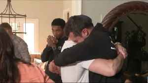 Quarterback Trace McSorley overcome with emotion after Baltimore Ravens draft him No. 197 [Video]