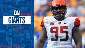 New York Giants select Syracuse defensive tackle Chris Slayton No. 245 in the 2019 draft [Video]