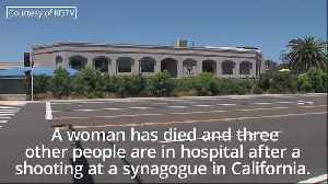 One dead after man opens fire on worshippers at California Synagogue [Video]
