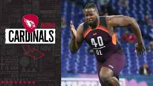 Arizona Cardinals select Morgan State tackle Joshua Miles No. 248 in the 2019 NFL Draft [Video]