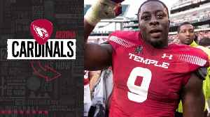 Arizona Cardinals select Temple defensive lineman Michael Dogbe No. 249 in the 2019 NFL Draft [Video]