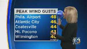 Philadelphia Weather: Windy But Seasonable Weekend [Video]