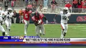 Ole Miss 'Nasty Wide Outs' find home in second round [Video]