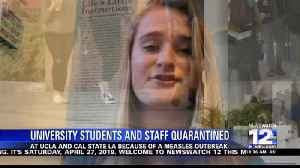 Students and staff quarantined [Video]
