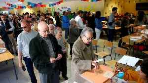 Spaniards flock to polls in one of the most closely-contested elections in decades [Video]