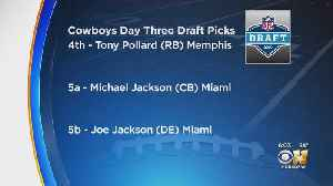 Rounding Out Cowboys' Final Day Of The 2019 NFL Draft [Video]