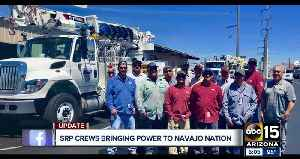 SRP crews bringing power to the Navajo nation [Video]