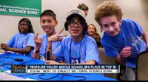 Treasure Valley middle schoolers compete in National Science Bowl [Video]