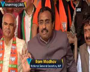 BJP will win over 3 parliamentary seats in JK Ram Madhav [Video]