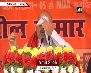 No one can separate Kashmir from India irrespective of who comes to power Amit Shah [Video]