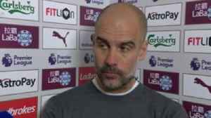 Pep 'so happy' after crucial win [Video]