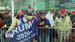 Trump Supporters waiting for the rally [Video]