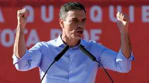 Spanish Prime Minister Pedro Sanchez Likely To Win Re-Election [Video]