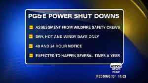 PG&E responds to fire safety blackout plans [Video]