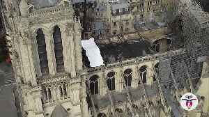 Notre Dame: Young trade trainees hope to help restore scorched roof [Video]