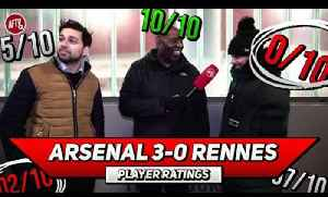 Arsenal 3-0 Rennes | Maitland-Niles Has Secured His Place! Player Ratings Ft Troopz & Afzal [Video]
