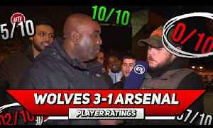 Wolves 3-1 Arsenal Player Ratings | Another Away Day Horror Show (feat DT) [Video]