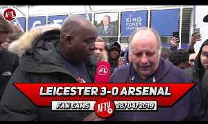 Leicester City 3-0 Arsenal | None Of Them Are Fit To Wear The Arsenal Shirt!! (Claude Rant) [Video]