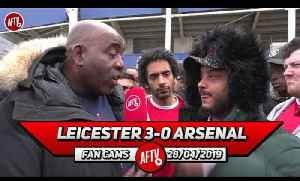 Leicester City 3-0 Arsenal | The Players Don't Want To Fight For The Club Or The Fans!! (Troopz) [Video]