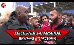 Leicester City 3-0 Arsenal | It's Very Hard To Love This Team! (Moh) [Video]