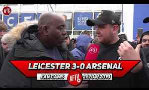 Leicester City 3-0 Arsenal | Our Away Form Has Cost Us Top 4! (Johnny) [Video]