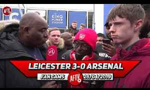 Leicester City 3-0 Arsenal | Maitland-Niles' Sending Off Changed Everything! (Ty) [Video]