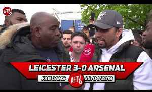 Leicester City 3-0 Arsenal | They're A Bunch Of Bottle Jobs!! Madison Destroyed Us! [Video]