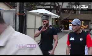 Farhan Akhtar Spotted at Otters Club [Video]