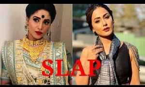 Kasautii Zindagi Kay: Shubhaavi Choksey slaps Hina Khan on sets [Video]