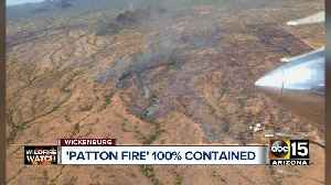 Patton Fire 100 percent contained [Video]
