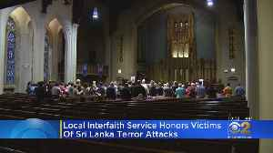 Local Interfaith Service Honors Victims Of Sri Lanka Terror Attacks [Video]