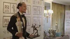 Van Dijk and Sterling honoured at PFA awards [Video]