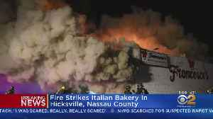 LI Bakery Goes Up In Flames [Video]