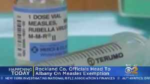 News video: Lawmakers Want To End Measles Exemption