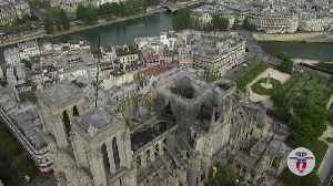 Notre Dame: Drone footage shows fire damage [Video]