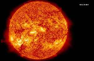 The Sun Spins Faster at its Equator Than at its Poles [Video]
