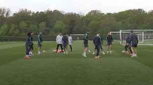 Tottenham prepare for Ajax in the Champions League [Video]