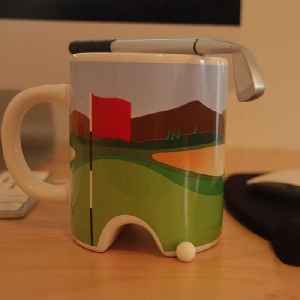 This is the perfect mug for anyone that loves to golf [Video]