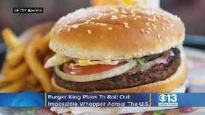 Burger King Plans To Roll Out Impossible Whopper Across The US [Video]