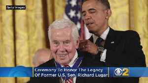 Indianapolis Ceremony To Honor Life, Legacy Of Richard Lugar [Video]