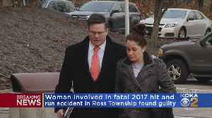 Woman Found Guilty In 2017 Fatal Hit-And-Run Crash In Ross Twp. [Video]
